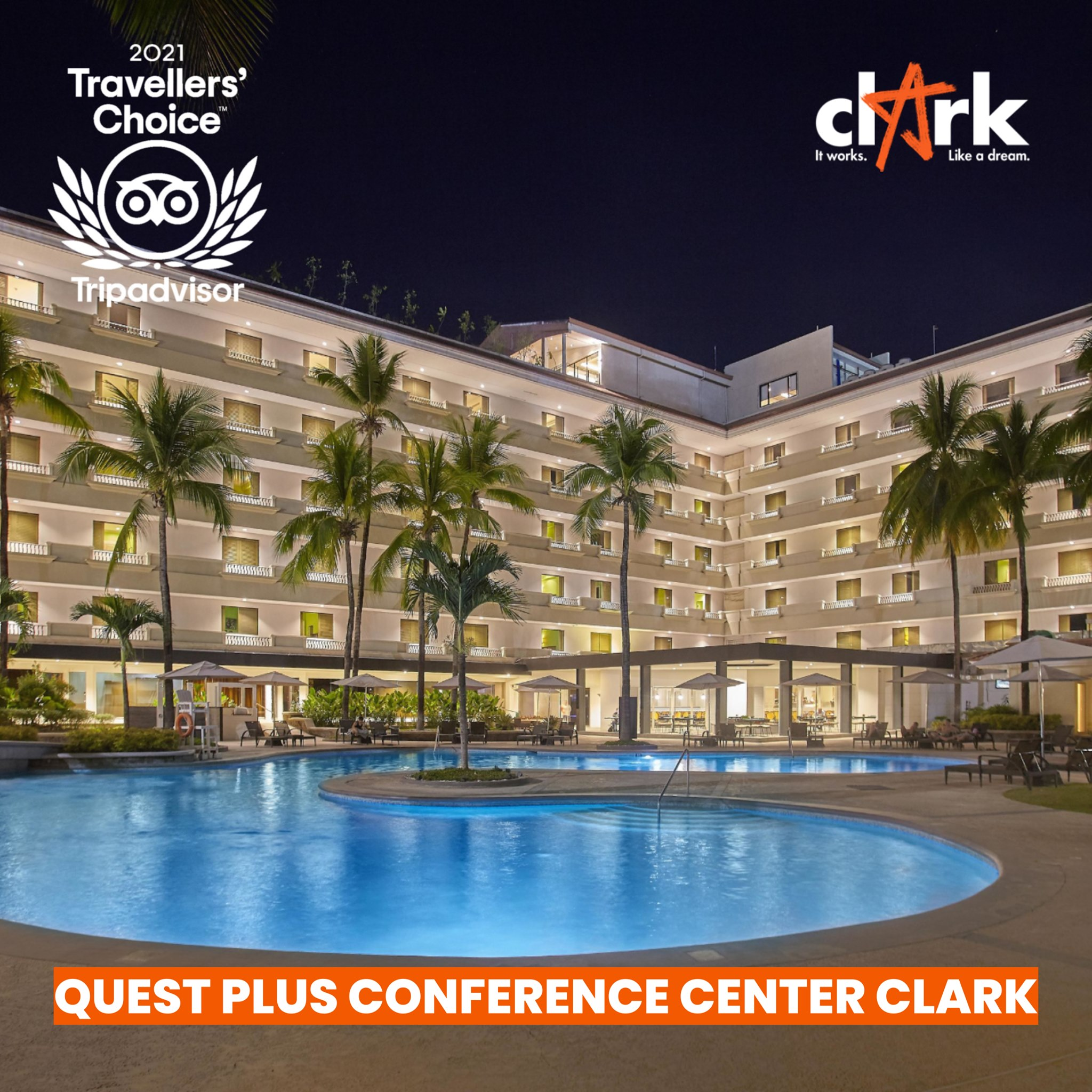 Clark hotels recognized for excellent services to guests, travelers