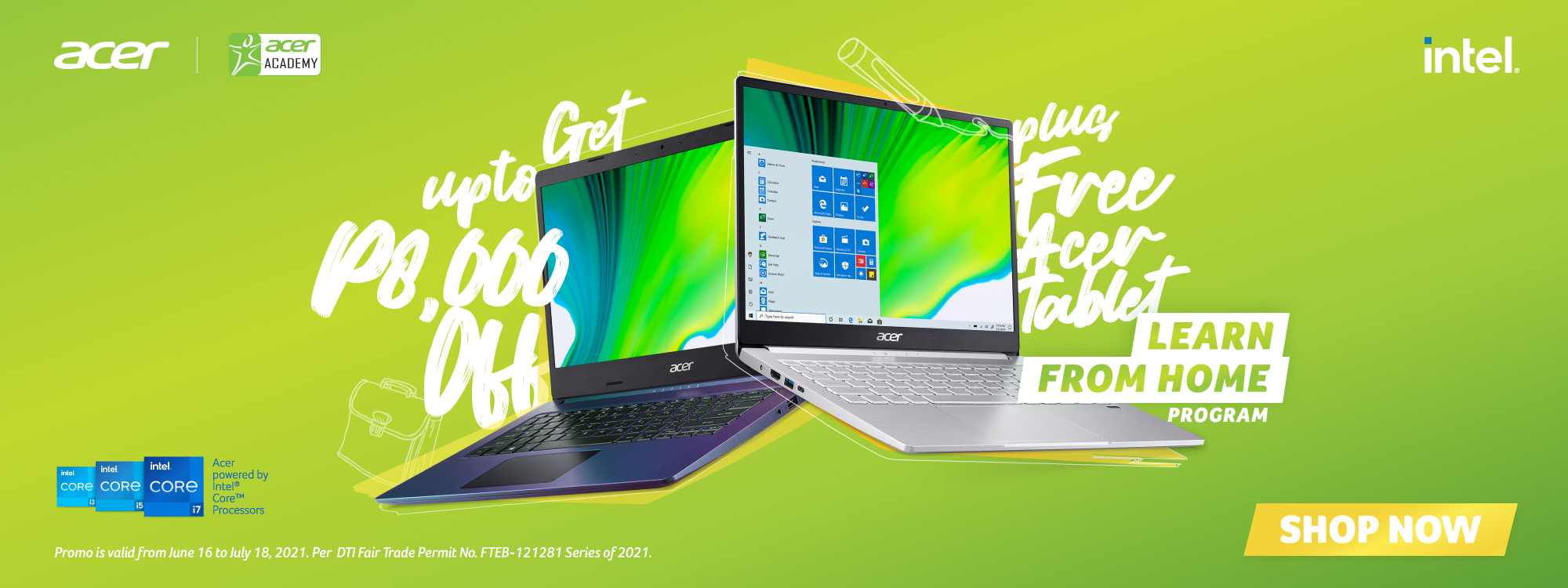 KathNiel campaigns for Acer's Learn from Home Program