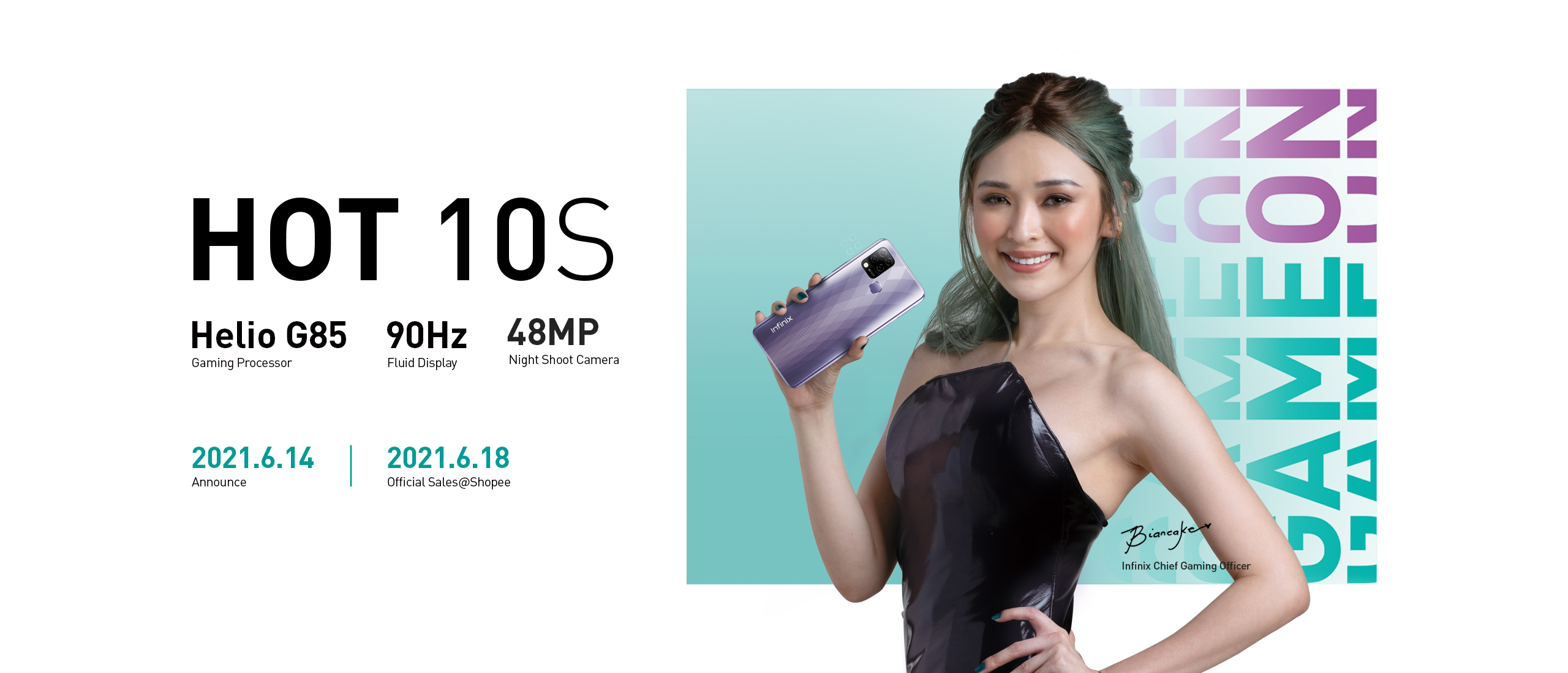 Infinix celebrates Super Brand Days on Shopee from June 15-18