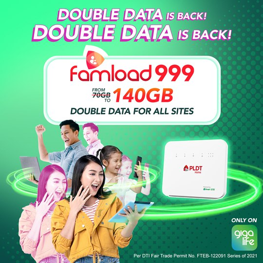 Smart Bro brings back Double Data for Prepaid Home WiFi customers