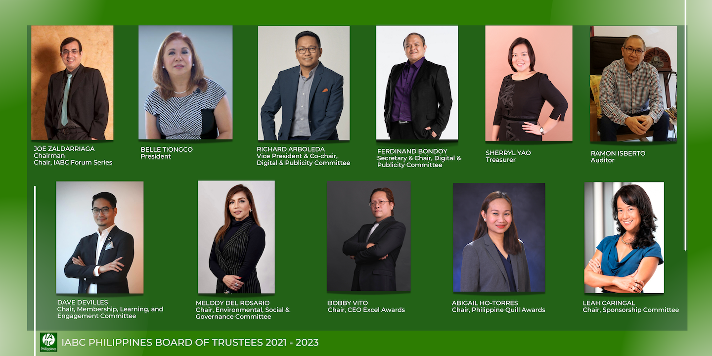 IABC Philippines elects new Board of Trustees
