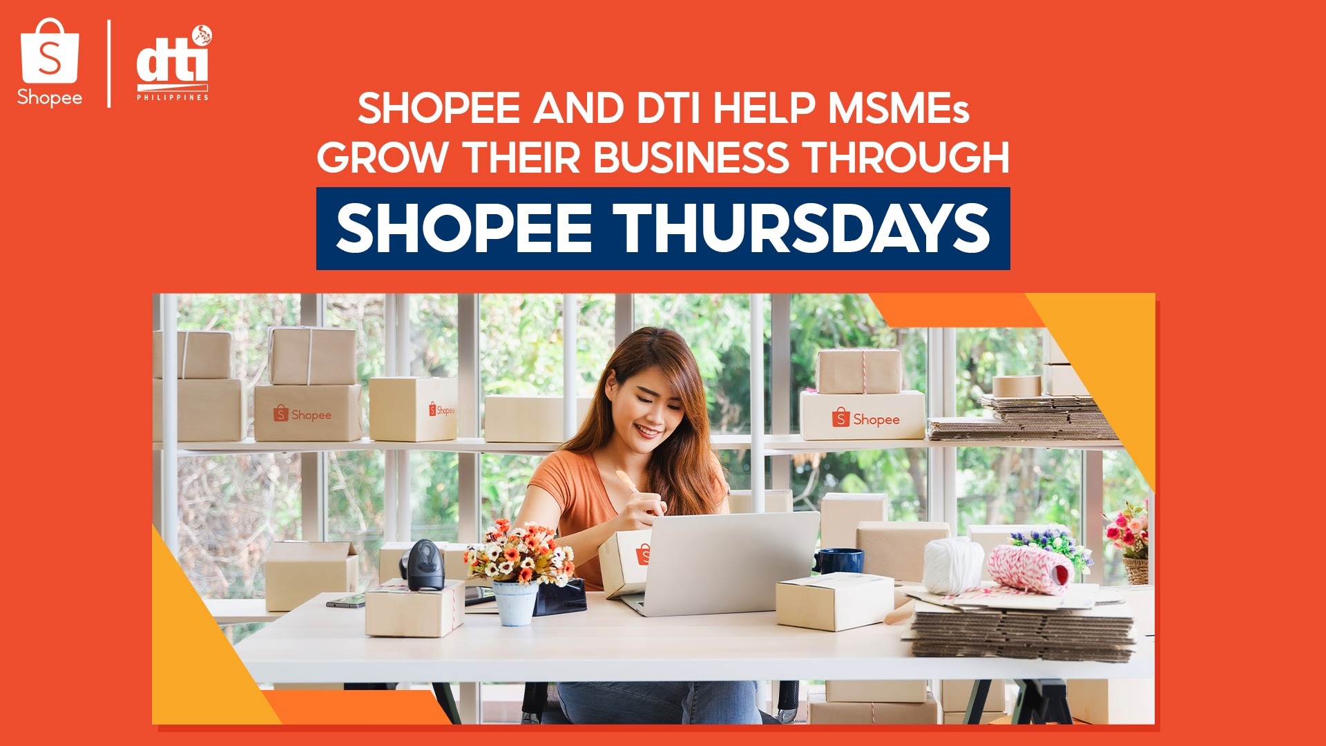 Shopee launches Shopee Thursdays with the Department of Trade and Industry to help MSMEs thrive in the E-commerce space