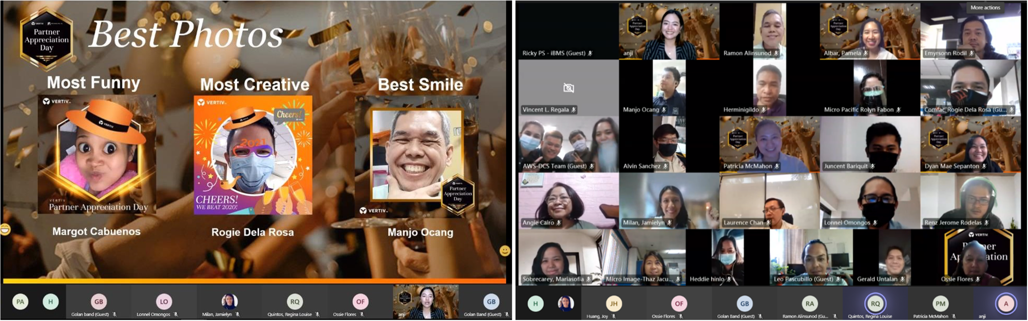 Vertiv and AWS Distribution recognize Top Philippine Partners