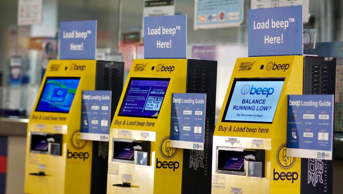 LRT-1 deploys new e-tap loading kiosk