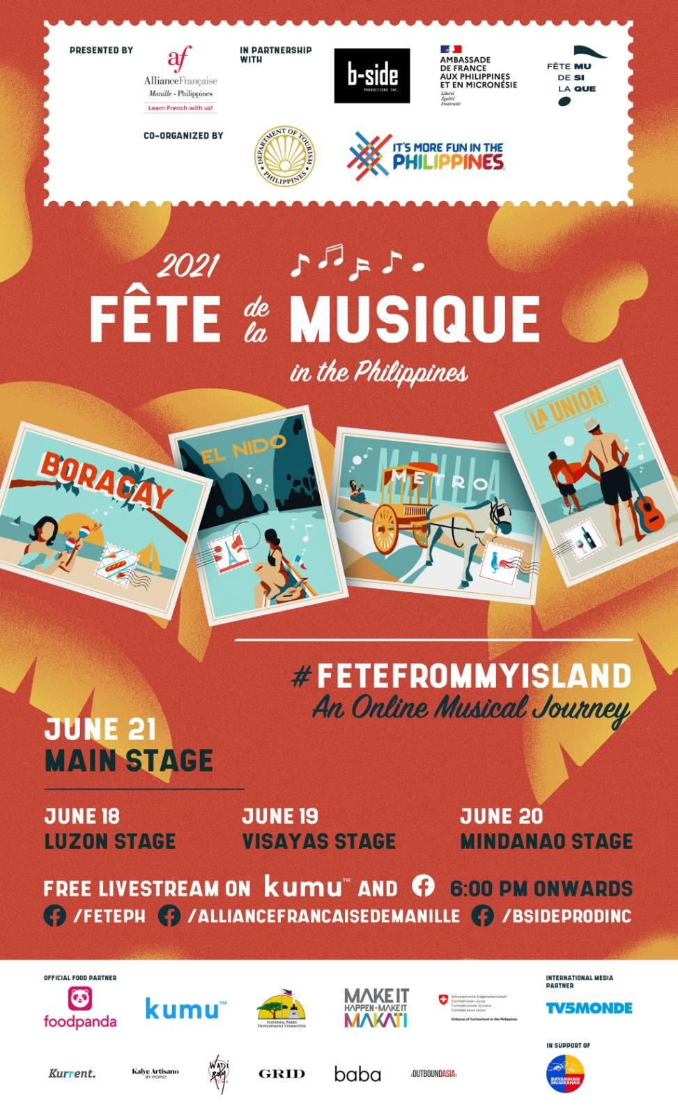 DOT to co-stage virtual Fête de la Musique June 18-21