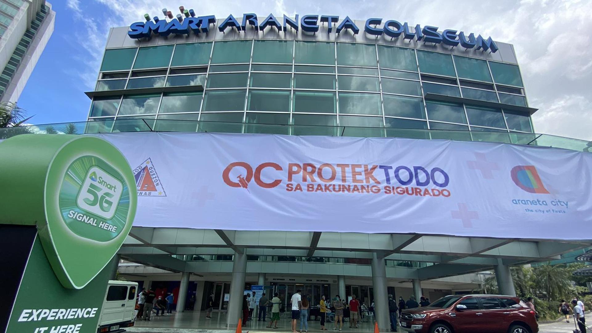 Araneta Group, JAAF reopens Smart Araneta Coliseum for mega COVID vaccination