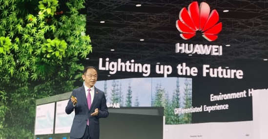 Huawei exec, Ryan Ding, says ongoing innovation is lighting up the future of every industry