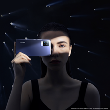 Level up your selfie game from day to night with the new portrait master, the vivo V21 series