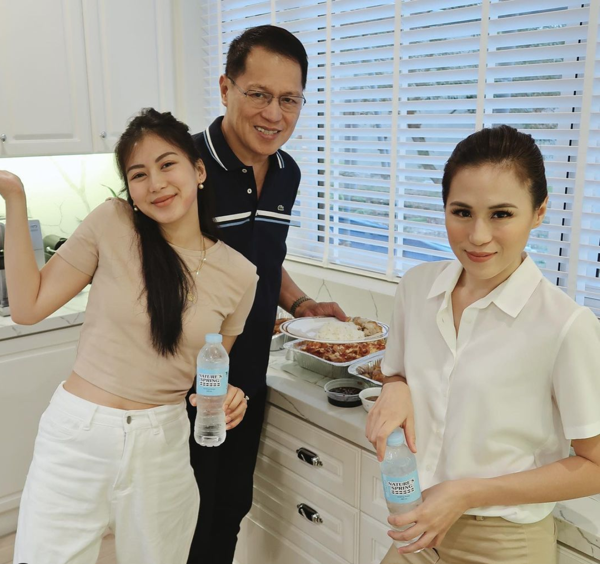 Gonzaga Sisters sing the praises of water for health and beauty