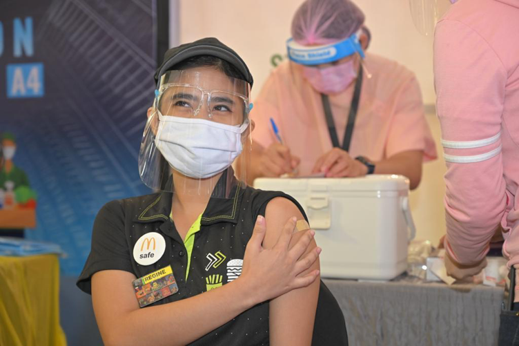 McDonald's Philippines reinforces commitment to people, safety through vaccination campaign support