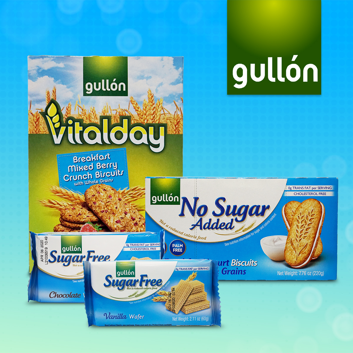 Get into Smart Snacking with Gullón