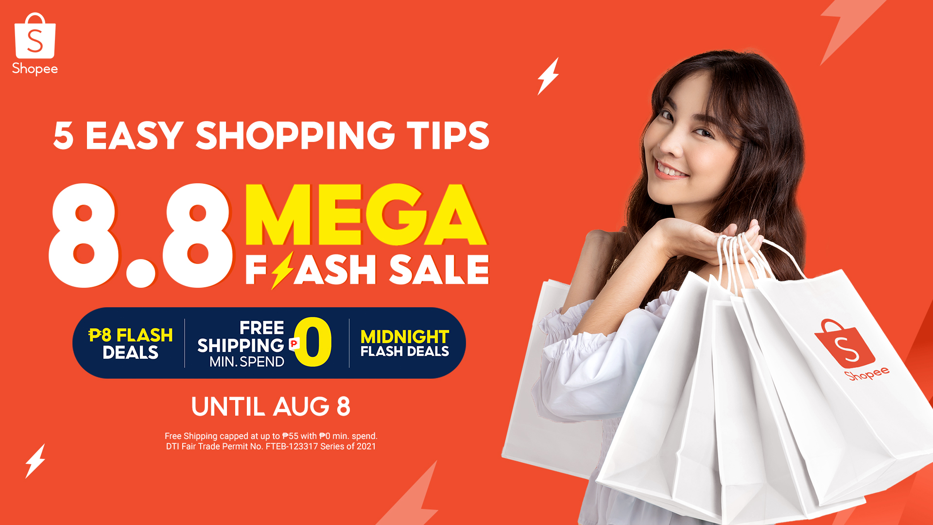 5 Easy tips to help you shop wisely at the Shopee 8.8 Mega Flash Sale