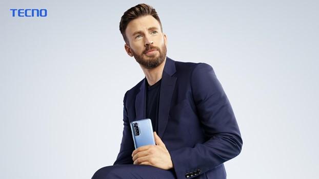 TECNO's Global Brand Ambassador Chris Evans led the launch of CAMON 17