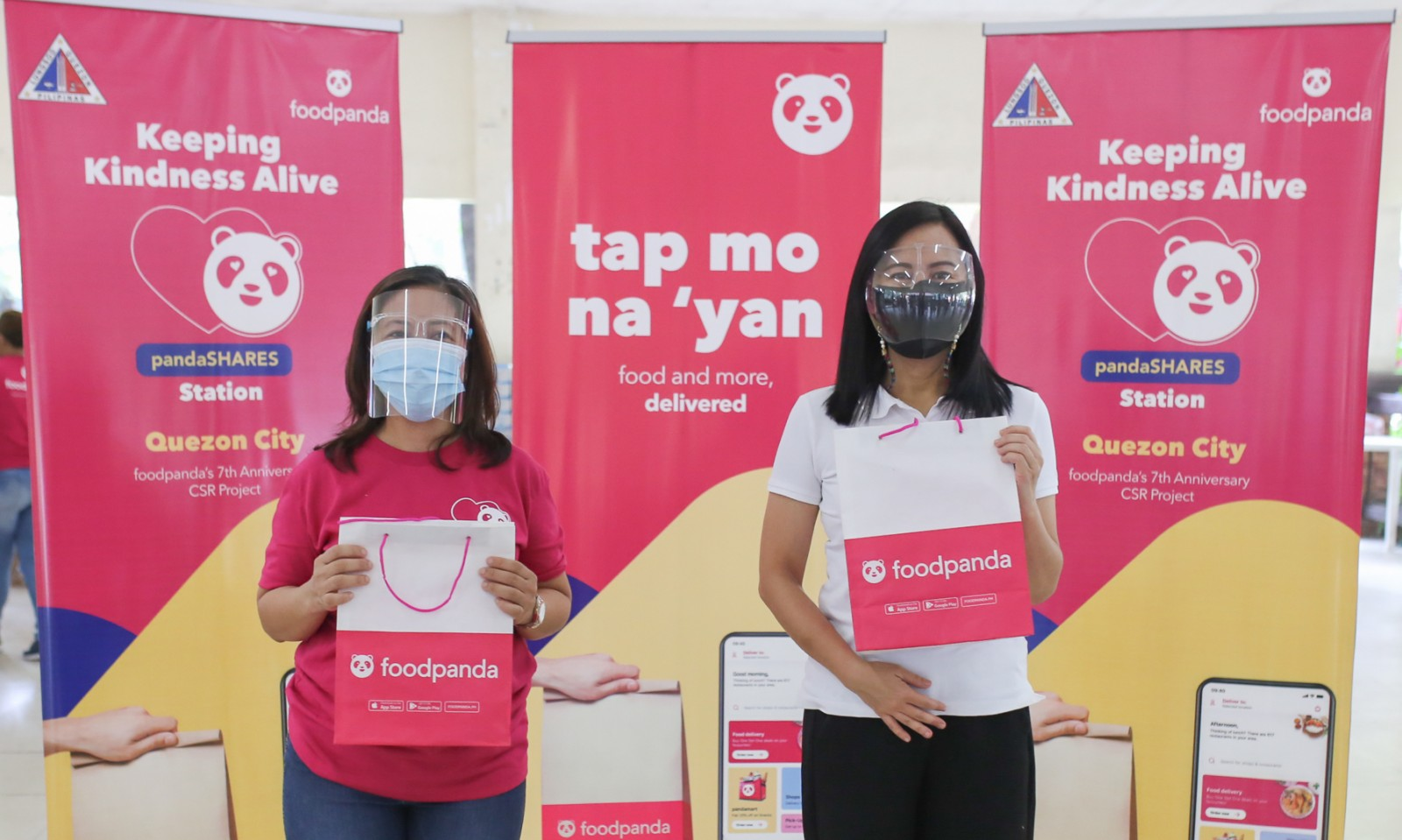 foodpanda celebrates 7th anniversary with CSR blowout, donates goods and meals to medical frontliners and communities