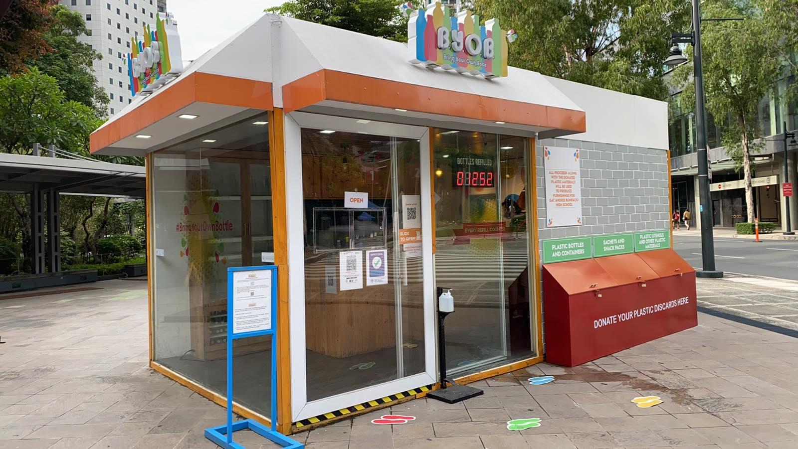 NutriAsia's BYOB station in BGC receives LGU 'Safety Seal'