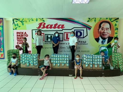 """Bata Philippines and CHILD Haus """"Let's Walk Together"""" campaign"""