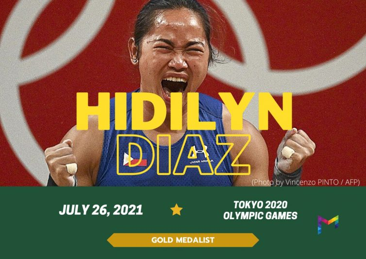 """""""The goal is getting the gold, but also taking each day as a chance to start over"""" - Olympic gold medalist and Manulife brand ambassador Hidilyn Diaz"""